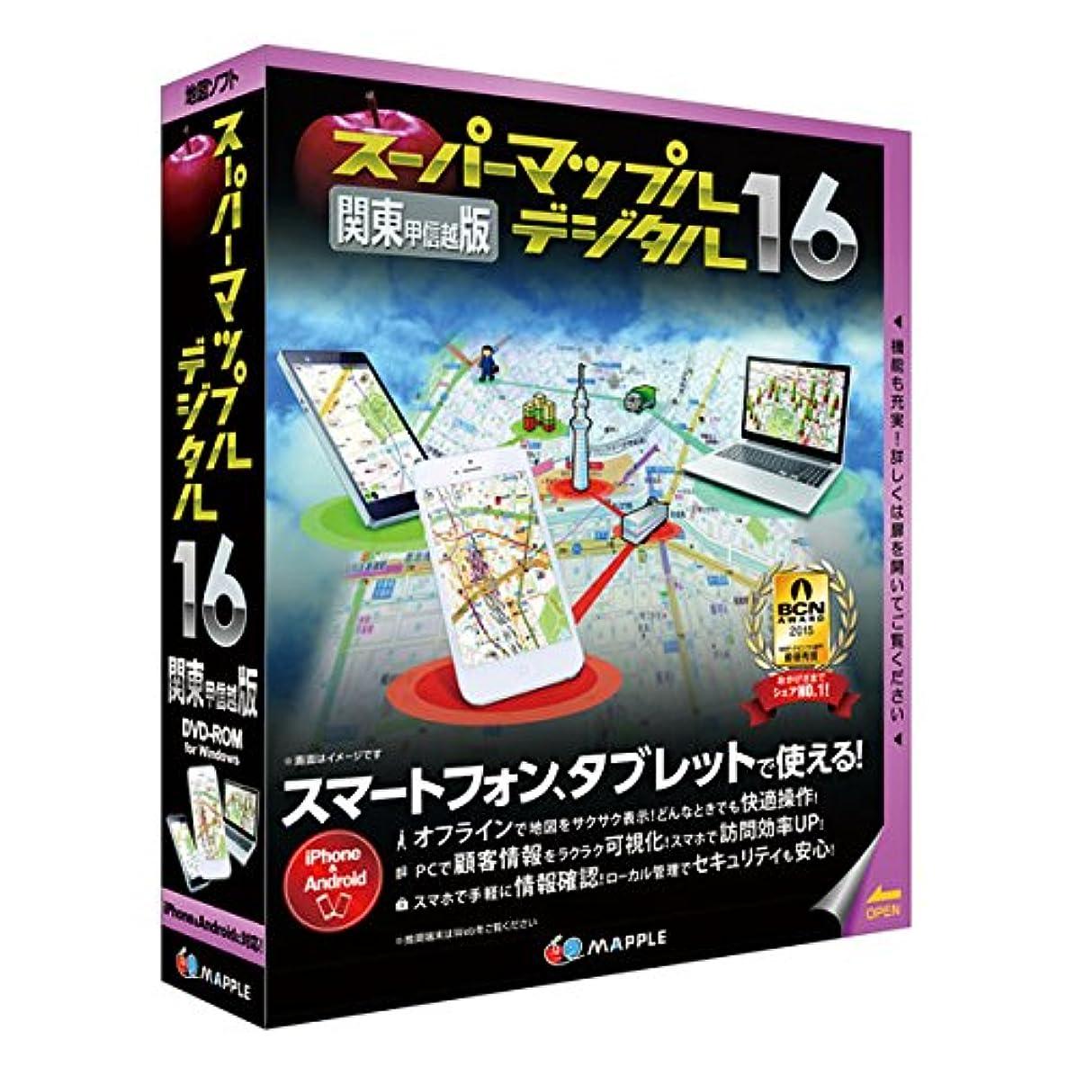 推進こどもセンター骨髄スーパーマップル?デジタル 16関東甲信越版
