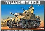 アカデミー 1/35 アメリカ軍 M3 リー中戦車 プラモデル