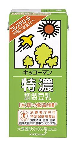 特濃調製豆乳 1L ×6本