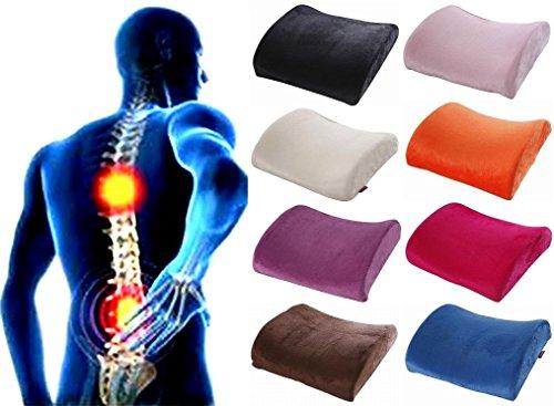 [ケンコバハンズ]低反発 ランバーサポートクッション 腰痛クッション 腰まくら 腰枕 腰痛 クッショ...