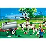 プレイモービル 動物 牛の牧場 4494