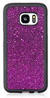Galaxy S7 Case Bling Bling Glimmer Glitter Sparkle TPU Full Cover Case for Samsung Galaxy S7 by iSee Case (Glitter Purple) [並行輸入品]