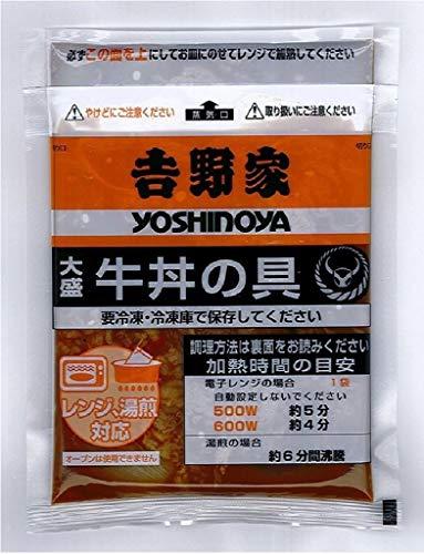 吉野家 冷凍大盛牛丼の具8食セット