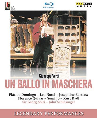 ジュゼッペ・ヴェルディ:歌劇「仮面舞踏会」 (Un ballo di maschera) [Blu-ray]