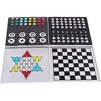 Kesoto ミニ アルミ チェッカー チェスピース チェスボード