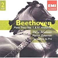 Beethoven: Piano Trios Op. 1 & 97 'Archduke', 14 Variations, Allegrettos - Daniel Barenboim, Jacqueline du Pre, Pinchas Zukerman by Daniel Barenboim (2006-05-02)