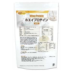 ホエイプロテインW80 プレーン味 1kg [02] NICHIGA(ニチガ)