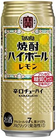 焼酎ハイボール レモン [ チューハイ 500mlx24本 ]