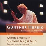 交響曲第7番、第8番 ヘルビヒ&ザールブリュッケン放送交響楽団(2CD)