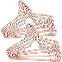 コモライフ マルチクリップハンガー8本組 ピンク 洗濯物 フック 風 飛びにくい 首が伸びない 掛けやすい