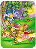 Carolines Treasures APH0976LCB Picnic Time Animals Glass Cutting Board, Large