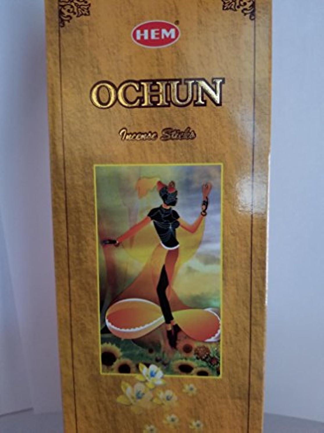 まっすぐにするモーション解任裾Ochun Incense Sticksボックス