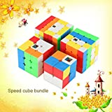 風の翼 スピードパズルマジックキューブセットMoYu MFS キューブパック 競技用(2x2x2,3x3x3、4x4x4,5x5x5のパック)