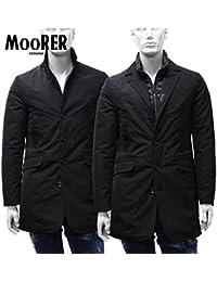 (ムーレー) MooRER ダウンコート 2WAY ブラック×ブラック DOLLAR-FX NERO + NERO [並行輸入品]