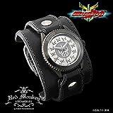 仮面ライダークウガ × red monkey designs Collaboration Wristwatch Silver925 High-End Model レッドモンキー