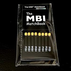 The MBI MatchBook マッチ棒の極小LEDライト (YELLOW)