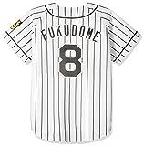 MIZUNO(ミズノ) プリントユニフォーム 8)福留 ホーム 阪神タイガース 12JRMT4108M ホワイト M