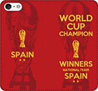 iPhone/Xperia/Galaxy/他機種選択可:携帯ケース/手帳型/サッカー/チャンピオン手帳ケース(スペイン) 07 iPhone8