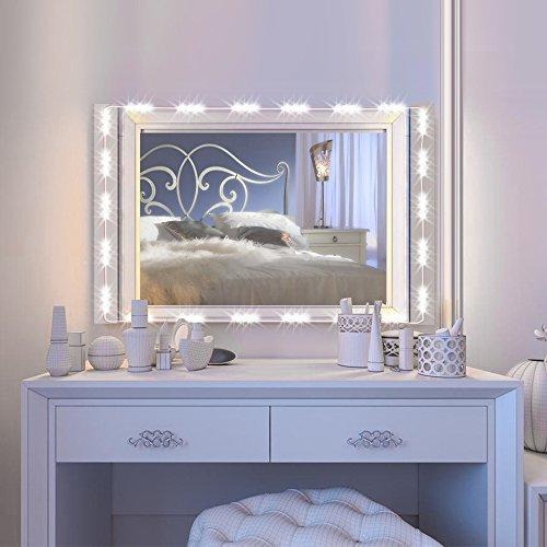 IMAGE バニティーミラーLEDライト、12.5フィート・75LED電球 UL安全規格準拠 化粧鏡...