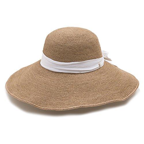 (ヘレンカミンスキー) Helen Kaminski ハット KAHLO WIDE BRIM カーロ ワイド ブリム レディース coral sand 帽子 女優帽 [並行輸入品]