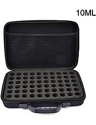 エッセンシャルオイル収納バッグ 精油収納ケース アロマオイル収納ボックス 大容量 60本入り 耐衝撃 取っ手付き 2サイズ選べる Styleshow