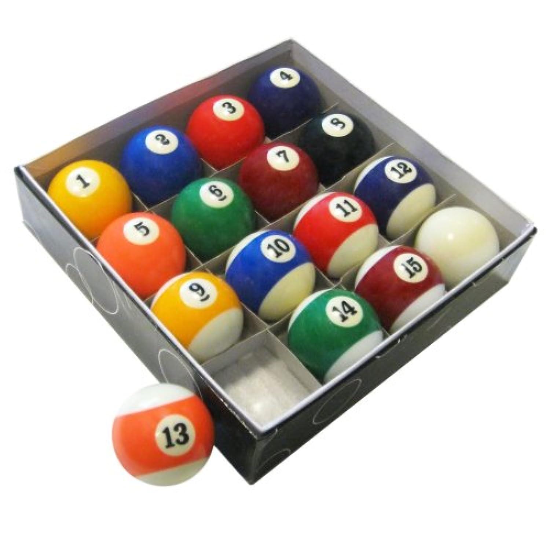 Hathawayプールテーブルregulationビリヤードボールセット