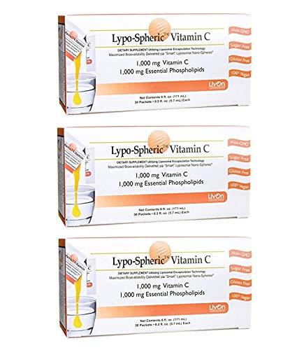 【3箱セット】 リポスフェリック ビタミンC 30包×3箱 ...