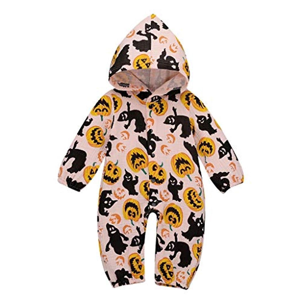 フレキシブル大惨事たくさんのMISFIY 幼児 ベビー服 子供 男の子 女の子 ロンパース コットン ハロウィン かぼちゃ かわいい 寝間着 部屋着 パジャマ多色展開