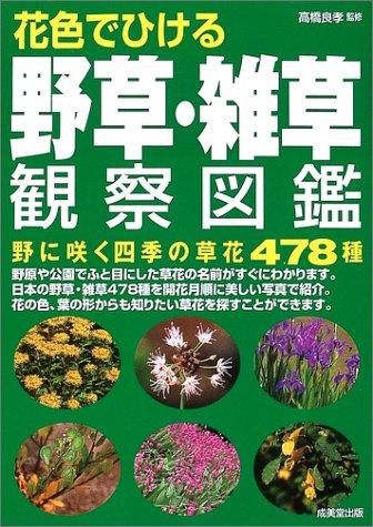 花色でひける 野草・雑草観察図鑑