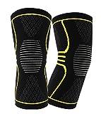Paciffico膝サポーター プロなスポーツ膝当て カスタマイズ可能 ニット素材  剣道 野球トレッドミル ランリング 登山スポーツ用 ダンス 運動保護 肘保護 ニットの膝当て