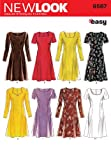 New Look Sewing Pattern 6567 Misses Dresses, Size A (6-8-10-12-14-16) by Simplicity Creative Group Inc - Patterns