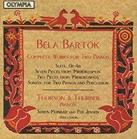 Bartok;Works for 2 Pianos