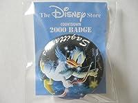 ディズニーストア 1999年限定 ドナルドダック 星座 缶バッジ
