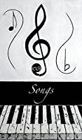 """「Songs–ブラックノート壁アートプリントby Wayne Cantrell 19"""" x 32"""" 6086748_4_0"""