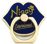 Nissy Entertainment 2nd LIVE 可愛い。どこの?スマホリング(ブルー 青 )