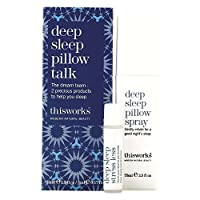 This Works Deep Sleep Pillow Talk Set これは、深い睡眠枕トークセットに動作します [並行輸入品]
