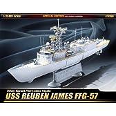 アカデミー 1/350 USS ルーベン ジェームス FFG-57 限定版