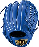 ZETT(ゼット) ソフトボール デュアルキャッチ グラブ (グローブ) オールラウンド ロイヤルブルー(2500) 右投げ用 BSGB53920