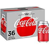 Diet Coca-Cola Soft Drink Multipack Cans 36 x 375mL