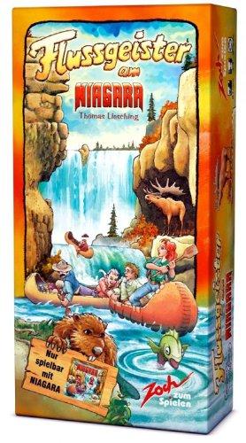 ナイアガラ拡張セット 川の精 (Niagara: Flussgeister am Niagara) ボードゲーム