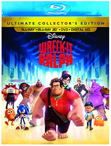 Wreck-It Ralph (3D) [Blu-ray] [Import]