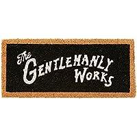 コイヤマット Gentry Works - ジェンティワークス - ブラック 幅55×奥行24cm (厚み1.5cm) TJ-1754BK インターフォルム(Interform) TJ-1754BK