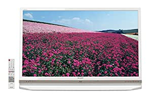 シャープ ブルーレイ内蔵HDD搭載AQUOS 液晶テレビ 40型 ホワイト系 LC-40R30-W
