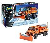 ドイツレベル 1/24 ウニモグ U1300L 除雪車 プラモデル 07438