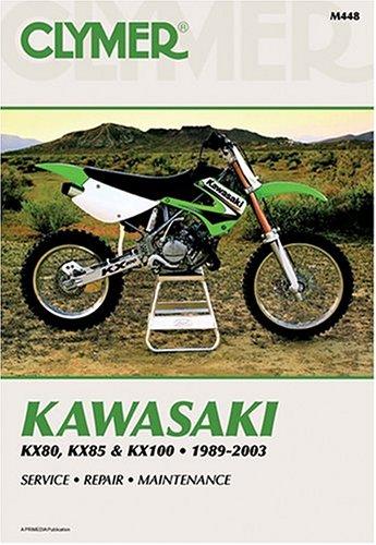 Kawasaki Kx80 1991-2000, Kx85 2001-2003, Kx100 1989-2003 (CLYMER MOTORCYCLE REPAIR)