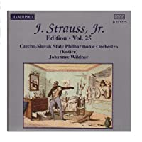 J.シュトラウスII世全集 管弦楽曲及び合唱曲 完全全集 第25集