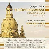Haydn; Bach, J.C.: Schoepfungsmesse (Creation Mass); Sinfonia B-Dur (Sinfonia B-flat major) by Stoklossa (2013-10-29)