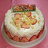 【お誕生日ギフトアイスケーキ】 ストロベリーチーズケーキ