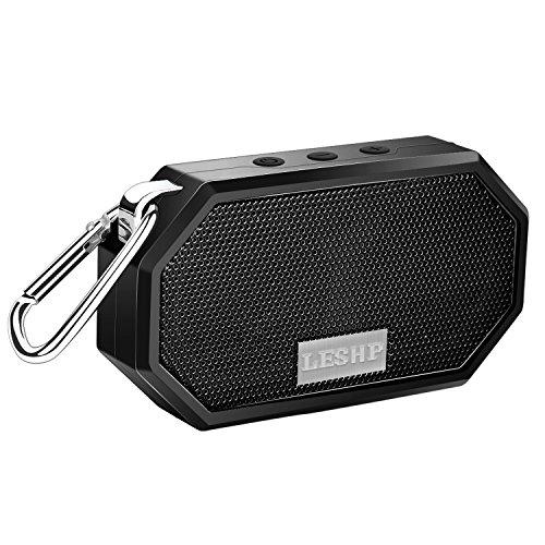 Bluetooth スピーカー IP66 防水 スピーカ ポータブルオーディオ 小型 高音質 充電式 軽量 防塵 5時間連続再生 音楽再生 内臓マイク 携帯対応 ワイヤレス スピーカー ブルートゥース 4.0 重低音強化 スピーカ AUXオーディオケーブル お風呂 アウトドア PC パソコン用