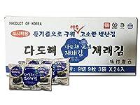 Halla 本場 韓国の味 ダドへ 海苔 3袋入り